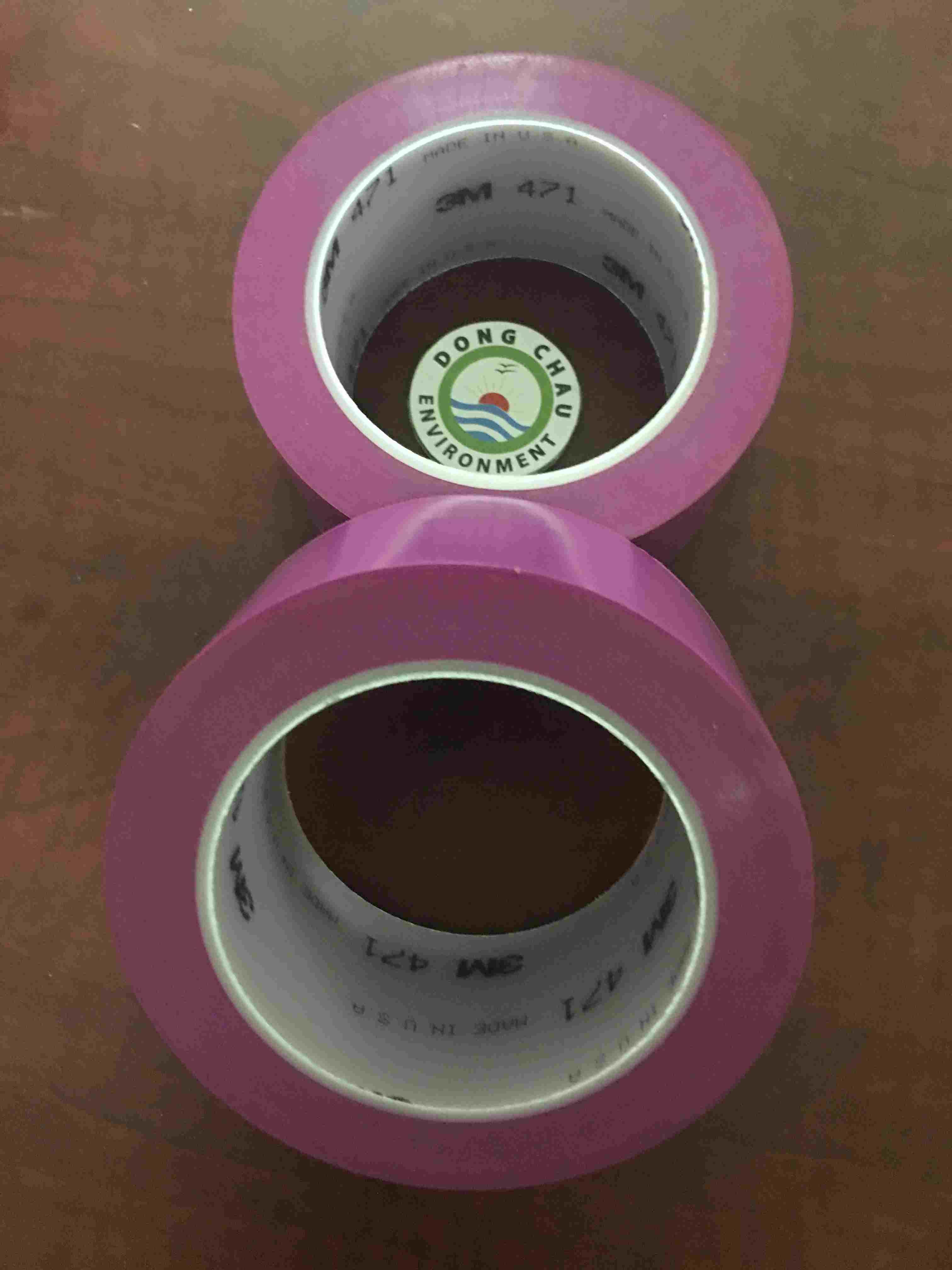 Băng Keo Dán Nền 3M Mỹ 471 Màu Tím