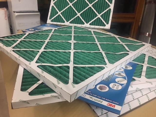 khung lọc khí dạng giấy dùng 1 lần camfil
