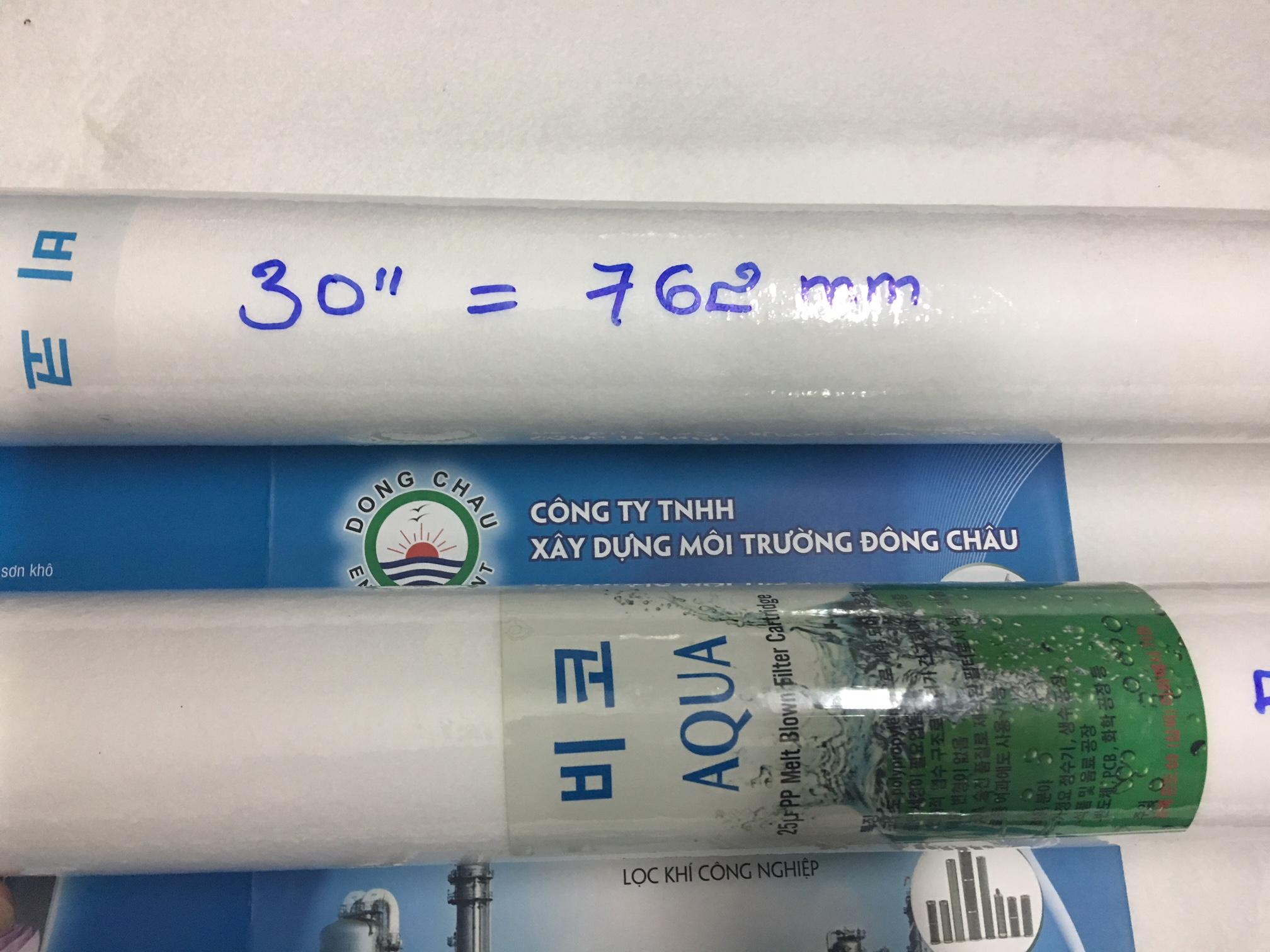 Lõi Lọc Nén 0.5 Micron 30 Inch BDM Aqua Hàn Quốc