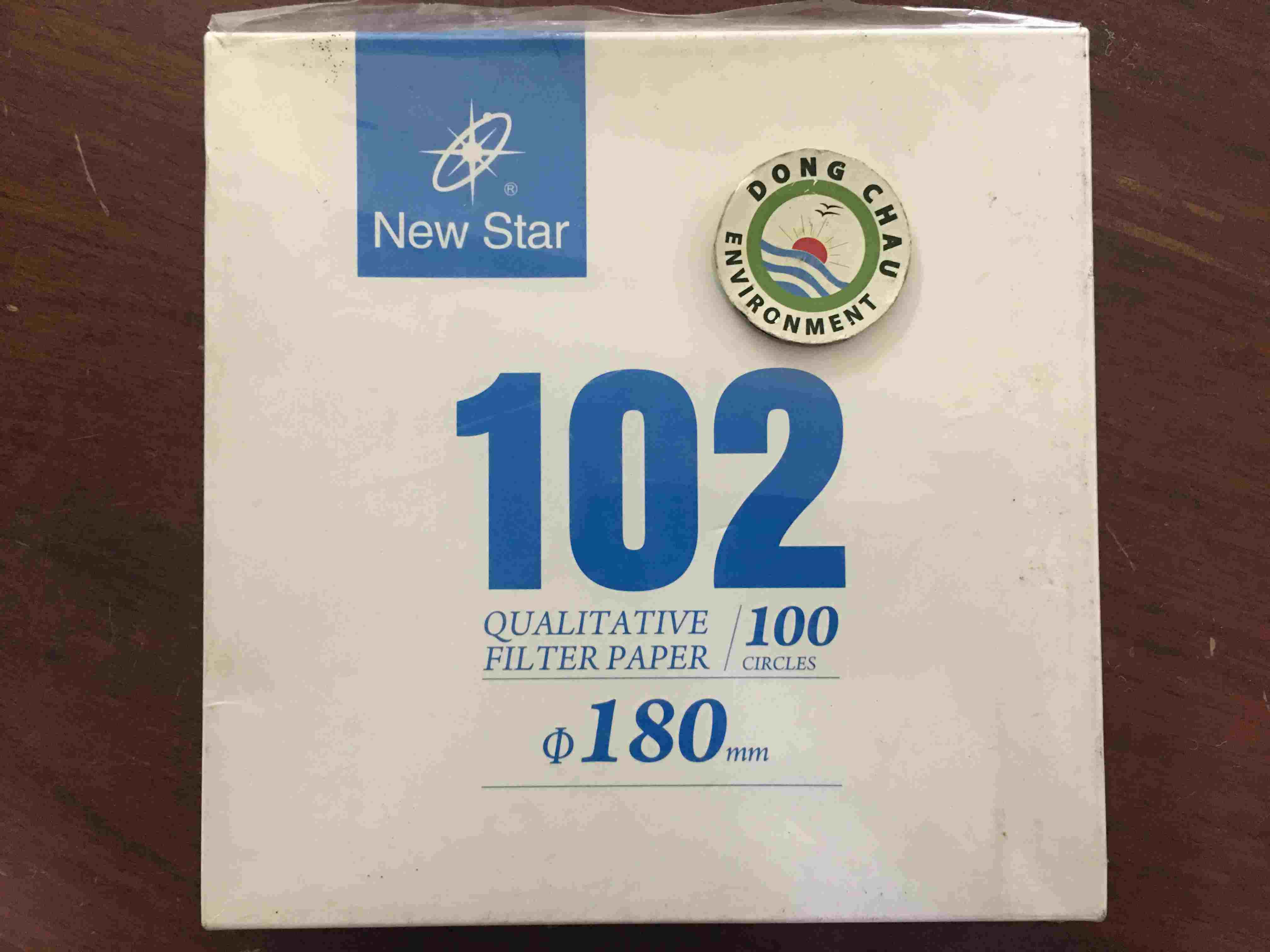 Giấy Lọc Phòng Thí Nghiệm Newstar 102 Đường Kính 180 Mm