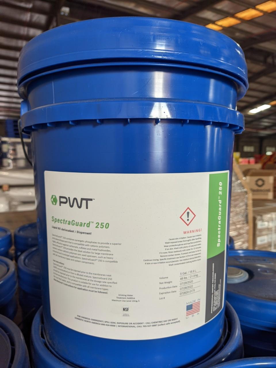 Hóa chất SpectraGuard 250 PWT chống cáu cặn màng RO/NF/UF
