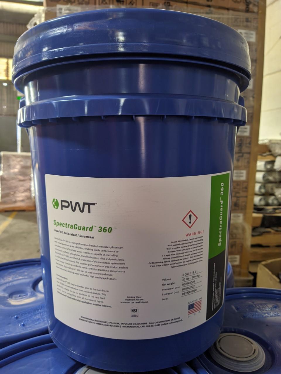 Dung dịch SpectraGuard 360 PWT chống cáu cặn màng RO/NF