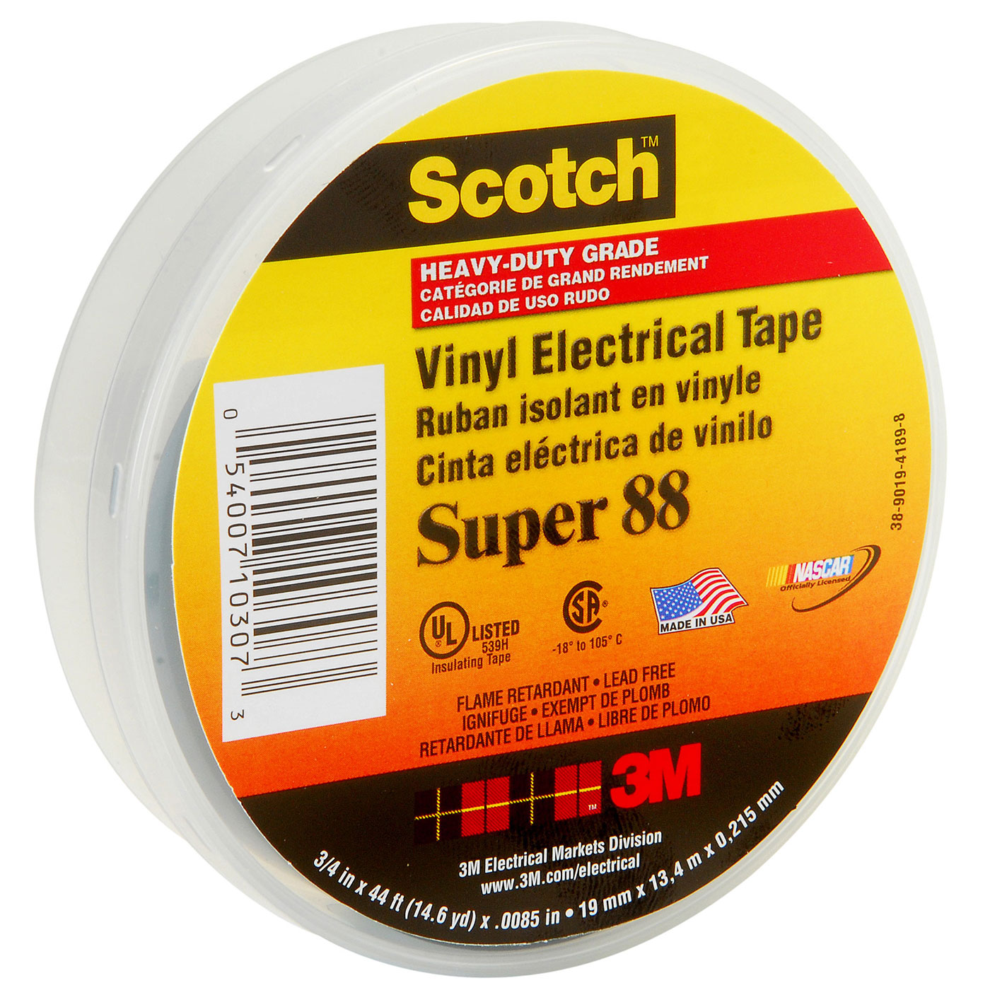 Băng keo cách điện cao cấp 3M super scotch 88