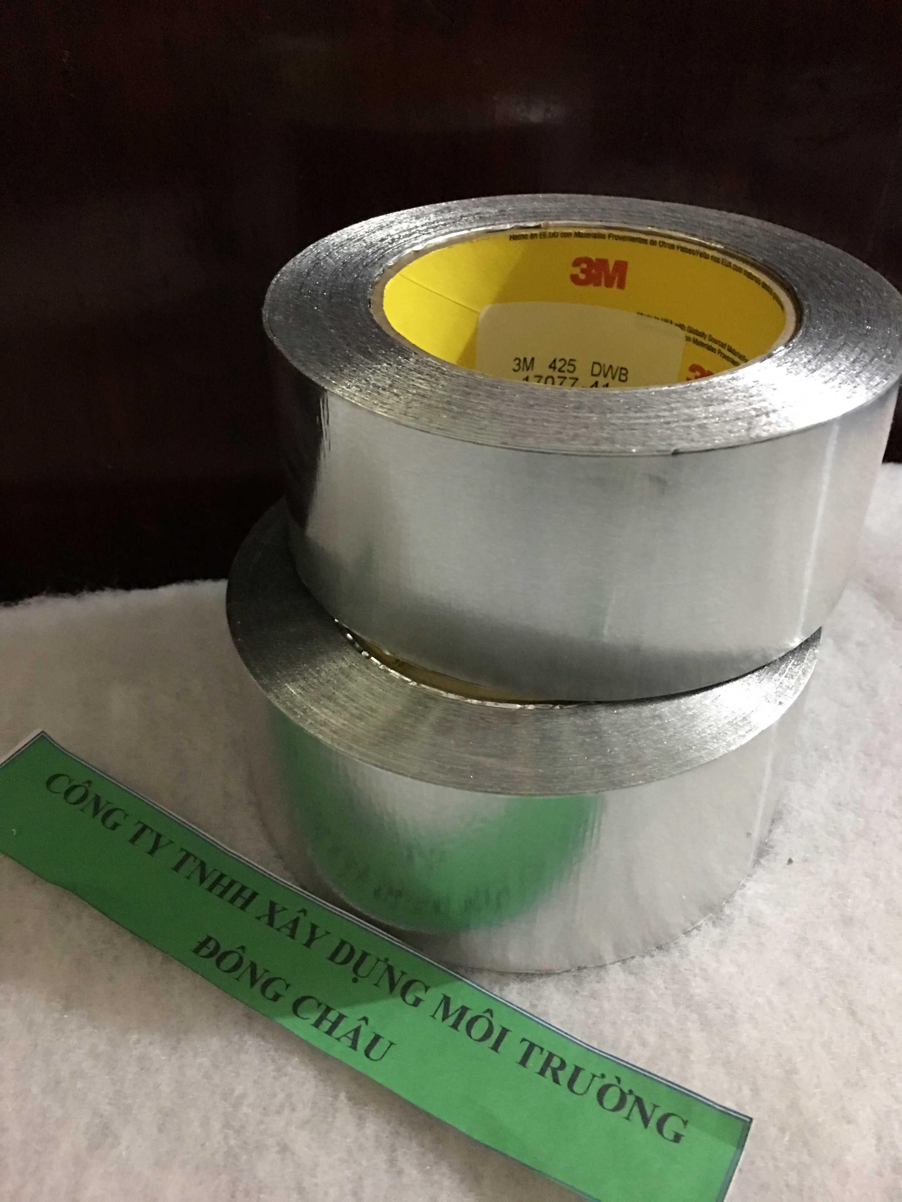 Băng keo nhôm cách nhiệt 3M 425