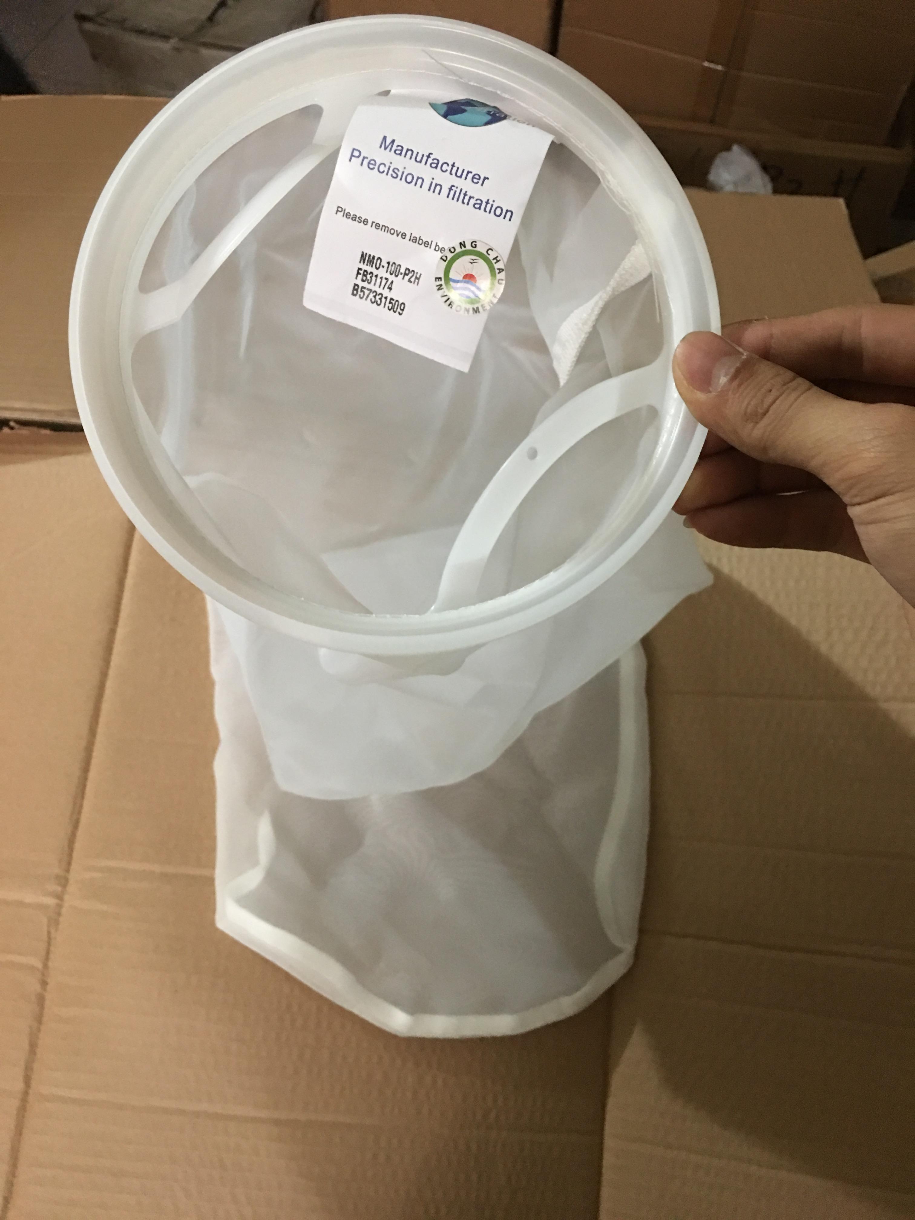 Túi lọc NMO 100 micron size 2