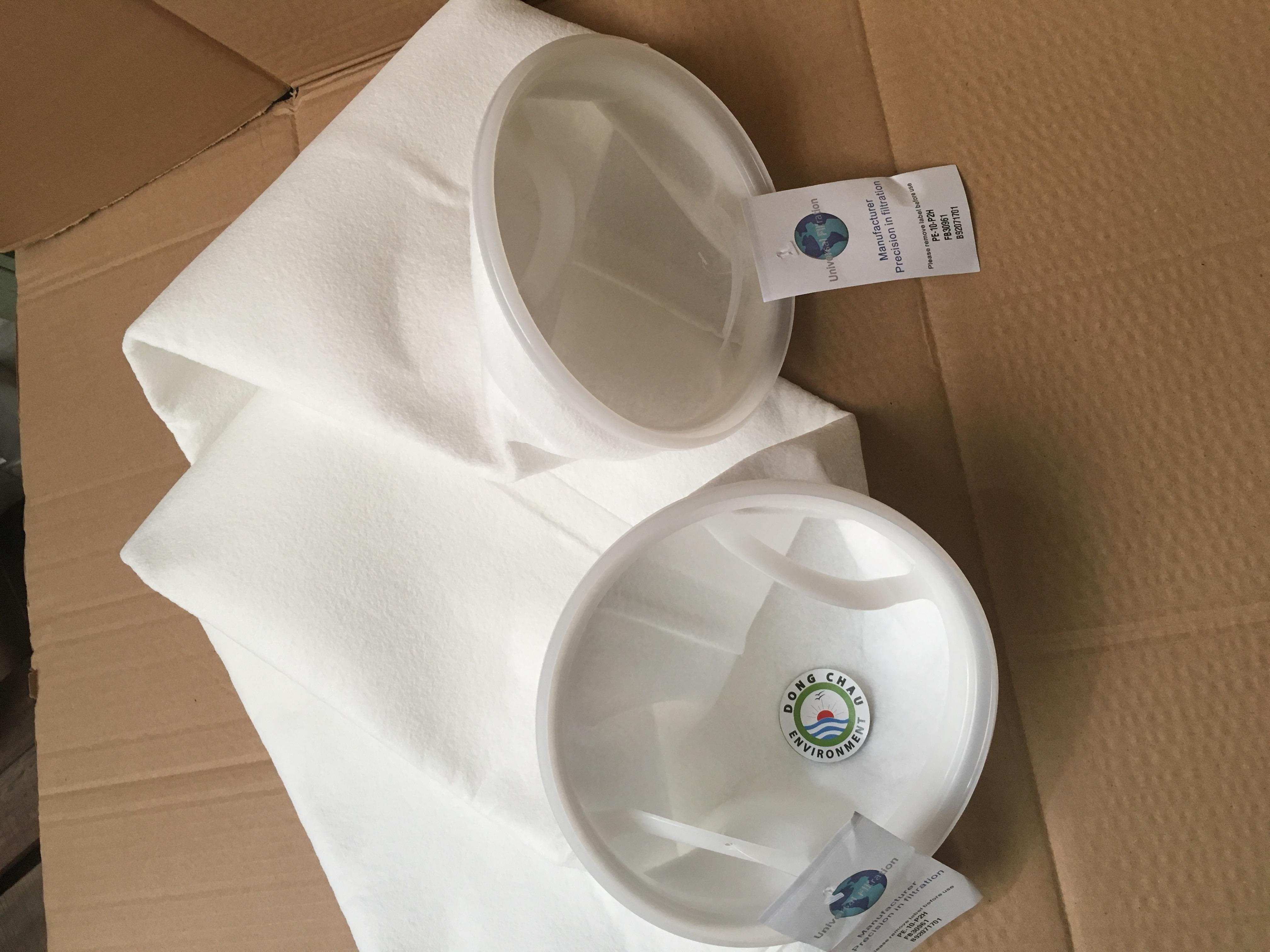 Túi lọc PE 10 micron size 2