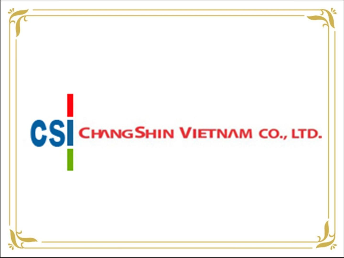 CHANG SHIN VIETNAM CO., LTD