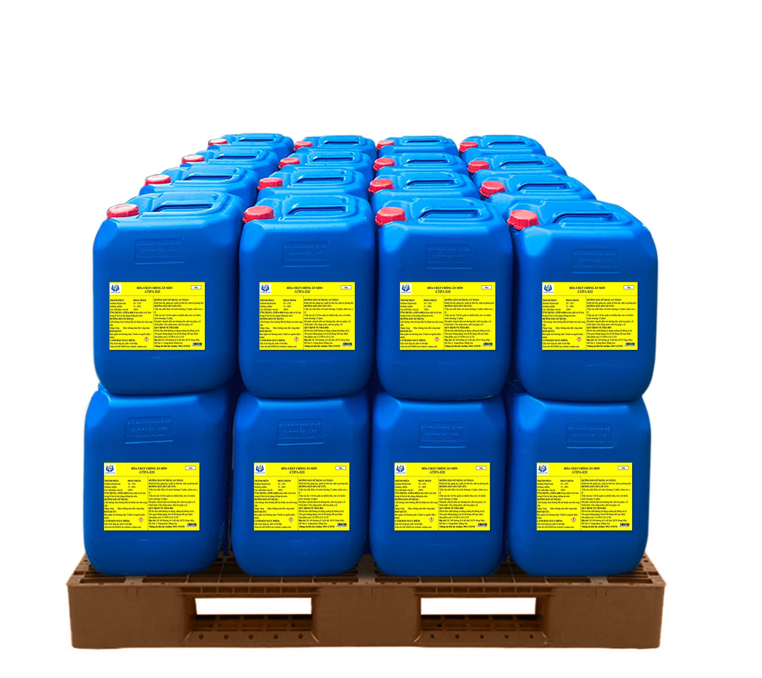 Hóa chất dùng cho lò hơi D101