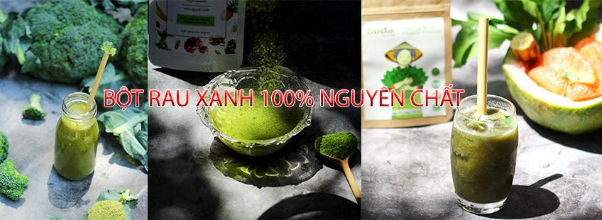 rau rau nguyen chất 100%