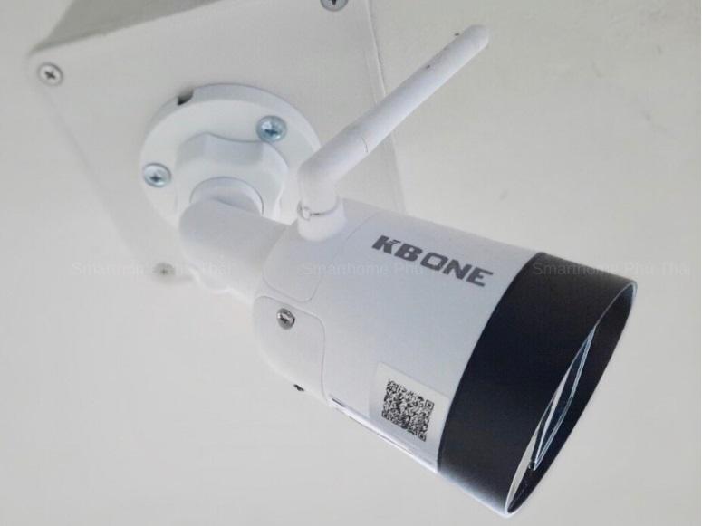 Lắp Đặt Camera Wifi Ngoài Trời KBone 2.0mp