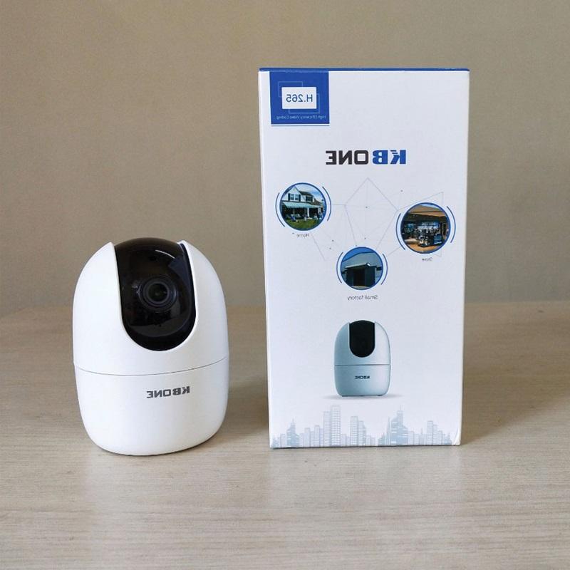 Lắp Đặt Camera Wifi Trong Nhà KBone KN H21WP 2.0mp