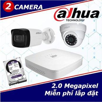 Camera Trọn Gói 2 Camera DAHUA 2.0mp