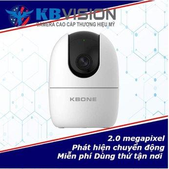Lắp Đặt Camera Wifi Trong Nhà KN H21WP KBone  2.0mp