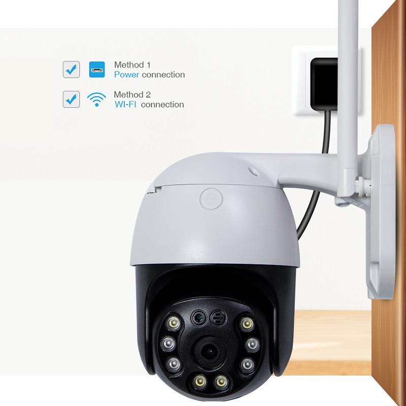 Camera Ip Wifi Ngoài Trời CareCam CC8031 Xoay 360 Độ 3.0MP Full HD 1536P