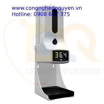 Máy Đo Thân Nhiệt Tích Hợp Sát Khuẩn Tay Tự Động ( 2 TRONG 1) K9 Pro Plus - Covid 19