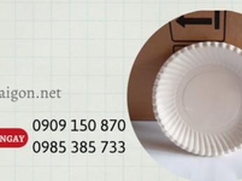 Dĩa giấy đựng thức ăn giá rẻ tại xưởng