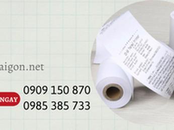Giấy in bill, giấy in hóa đơn giá rẻ tại TP.HCM