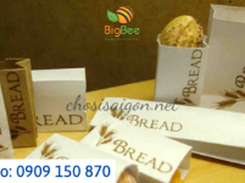 Túi giấy đựng bánh mì bán sỉ lẻ tại Tp.HCM