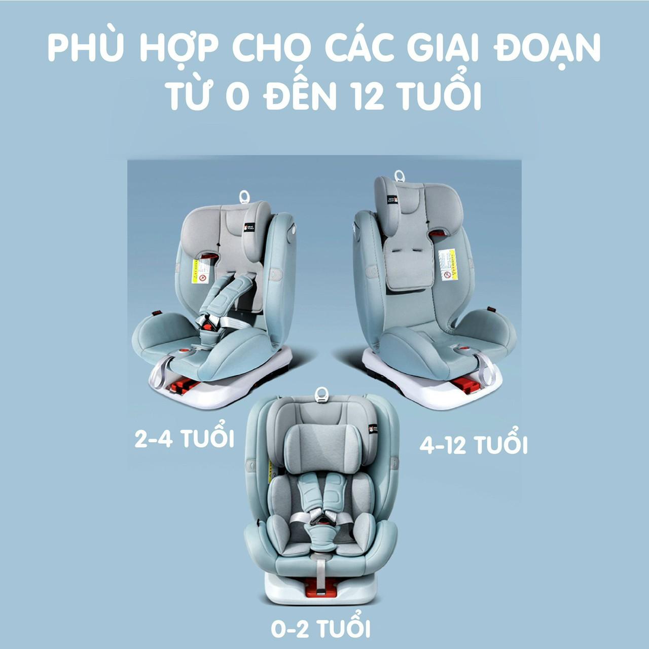 Ghế Carseat doux - ghế ô tô an toàn cho các gia đình và bé yêu đi du lịch