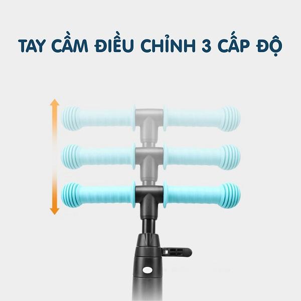 Xe Scooter Nadle TF5in1 - Xe chòi chân giúp bé di chuyển khắp mọi nơi