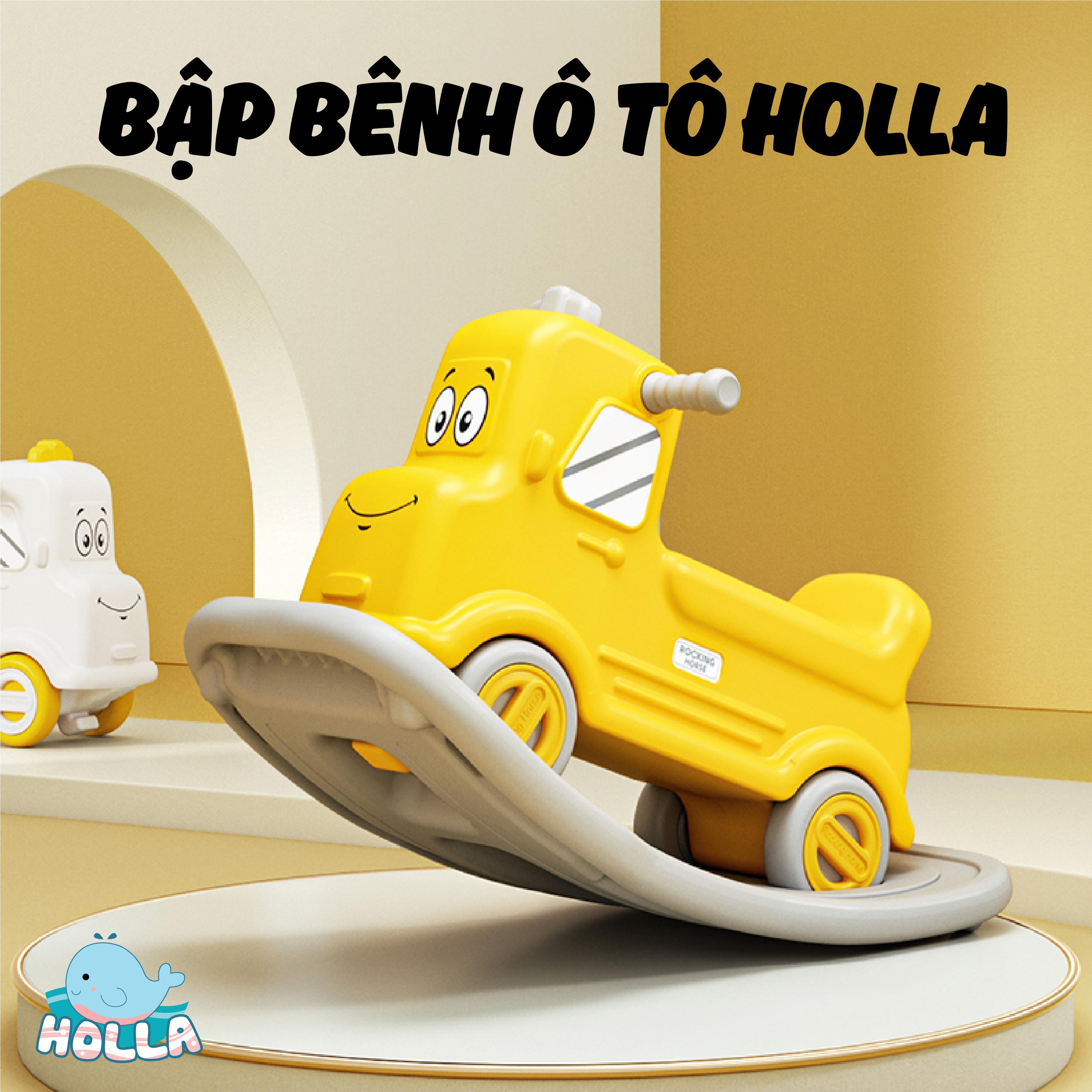 Bập bênh ô tô Holla đa năng kiêm xe chòi chân cho bé yêu?