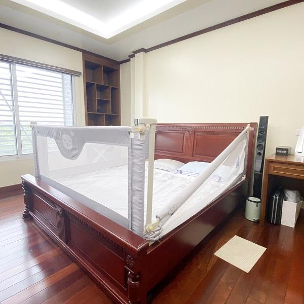 Thanh chắn giường Umoo an toàn cho bé yêu khi chơi hoặc ngủ một mình