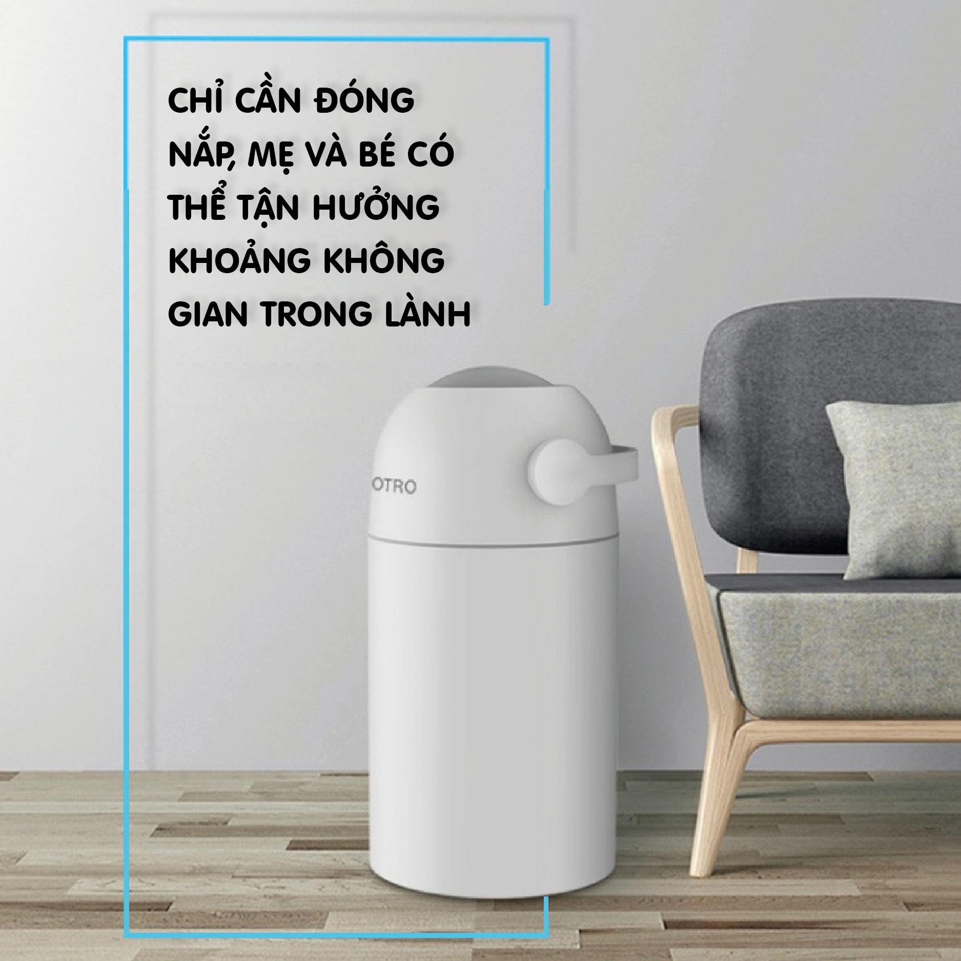 Thùng rác xử lý tã bỉm - chuyên gia xử lý rác thải tã bỉm cho mọi nhà