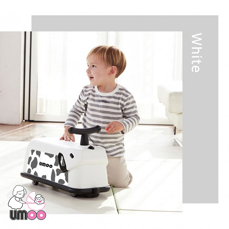 Xe chòi chân cún Umoo siêu cute nhựa PP thân thiện môi trường?