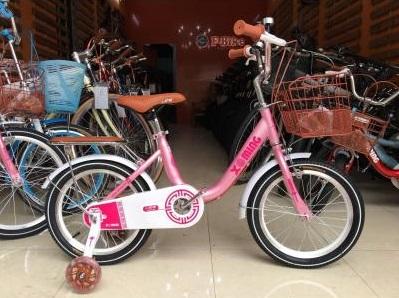 Xe đạp trẻ em Xaming giúp bé gái yêu vận động và thể thao hơn - BTshop
