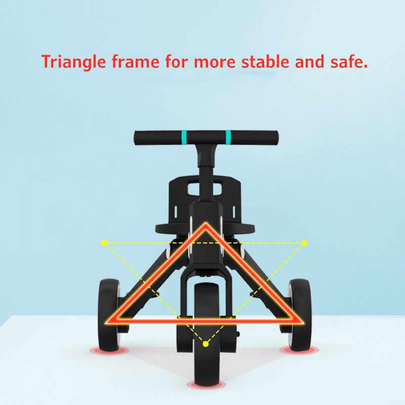 Xe đẩy đạp có mái che Uonibaby - Sản phẩm vận động đa năng cho bé yêu - BTshop