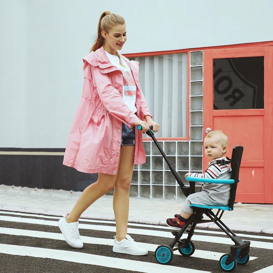 Xe đẩy đảo chiều Vovo đa năng cao cấp - quà tặng tuyệt vời cho mẹ và bé yêu - BTshop