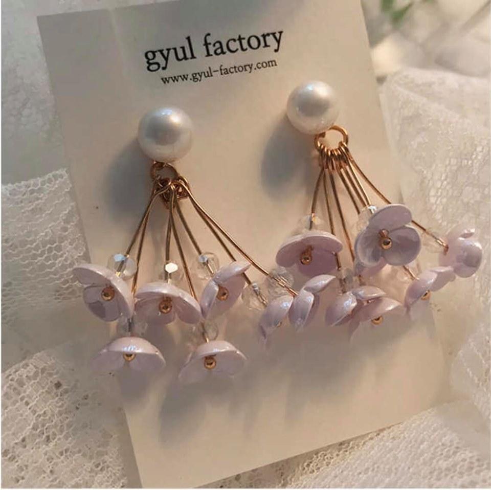 Đôi hoa tai Guy-Factory Sunglasses Flower Earring