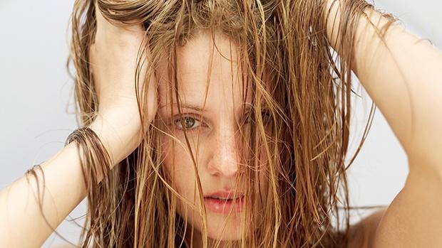 chăm sóc tóc bết