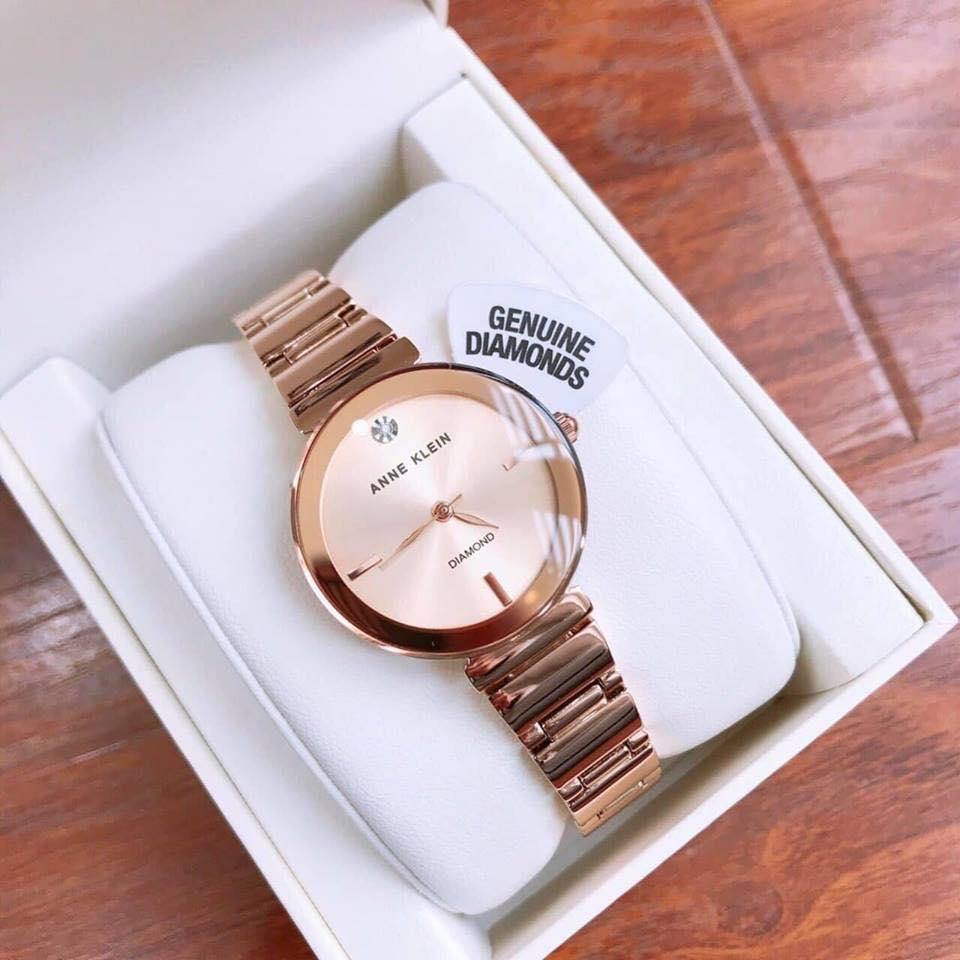 Đồng hồ nữ Anne Klein Women's Genuine Diamond Dial Bracelet Watch