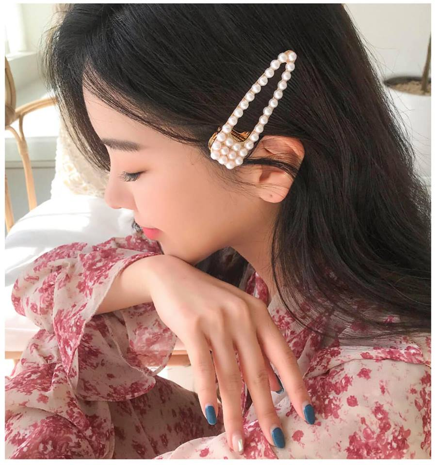 Kẹp tóc Gyul-Factory Daily Pearl Hairpin Silpin