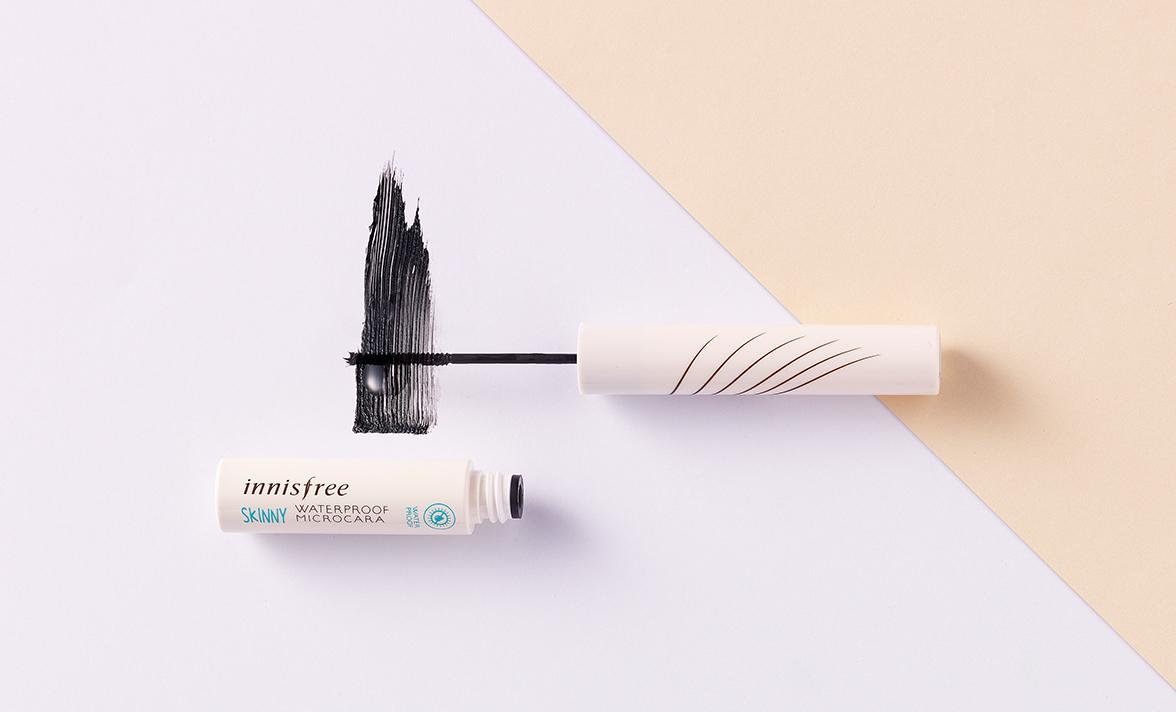 Mascara siêu mảnh siêu bền và không bị lem khithấm nước Innisfree Skinny Waterproof Microcara