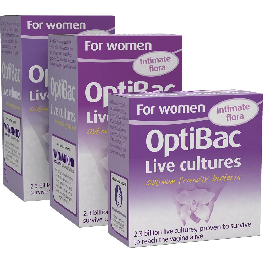 Men vi sinh trị viêm âm đạo và viêm tiết niệu Optibac Probiotics For Women