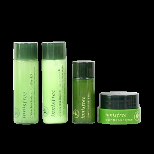 Set dưỡng da trà xanh INNISFREE Green Tea Special Kit