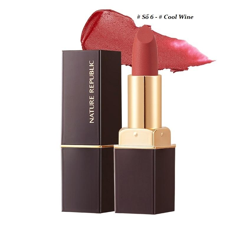 Son thỏi Nature Republic Kiss My Airy Matte Lipstick 4g