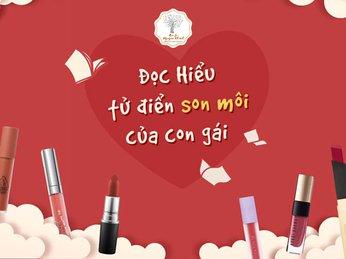 Các màu son môi nào con gái thích nhất và các màu son môi nào nên tránh khi chọn làm quà cho con gái
