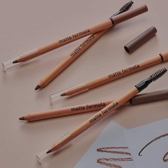Chì kẻ mày lâu trôi dùng cho make up Aritaum Matte Formula Eye Brow Pencil