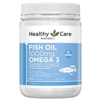 Dầu cá Omega 3 Healthy Care Natural Wild Cold Water Fish Oil 1000mg 400 viên