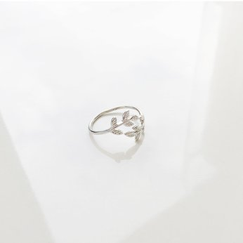 Nhẫn Oliver Leaf Cover Ring
