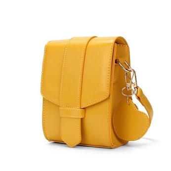 Túi màu vàng xinh xắn với chất liệu da Pu mềm