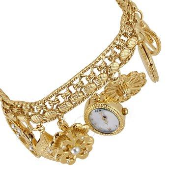 Chiếc đồng hồ nữ với thiết kế độc lạ hình chiếc lắcAnne Klein