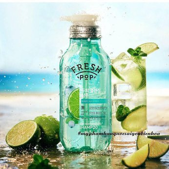 Dầu gội thảo dược Fresh Pop Green Herb Recipe Shampoo