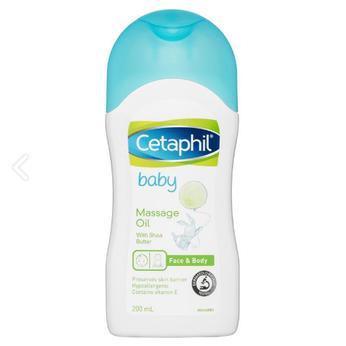 Dầu Massage Cetaphil Baby Massage Oil 200ml dành cho bé