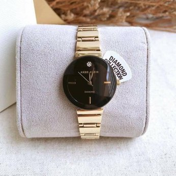Đồng hồ nữ Anne Klein Diamond Black Dial Ladies Watch