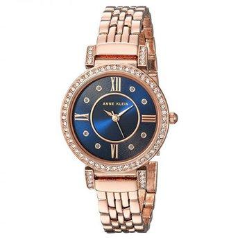 Đồng hồ nữ cao cấp dây thép không rỉ dành cho các nàng mệnh ThủyAnne KleinAK/2928NVRG 31mm
