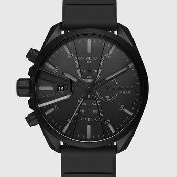 Đồng hồ cực chất cho người cá tính Diesel Chronograph Black Silicone Watch